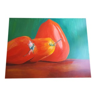 Tomato Still Life Acrylic on Canvas