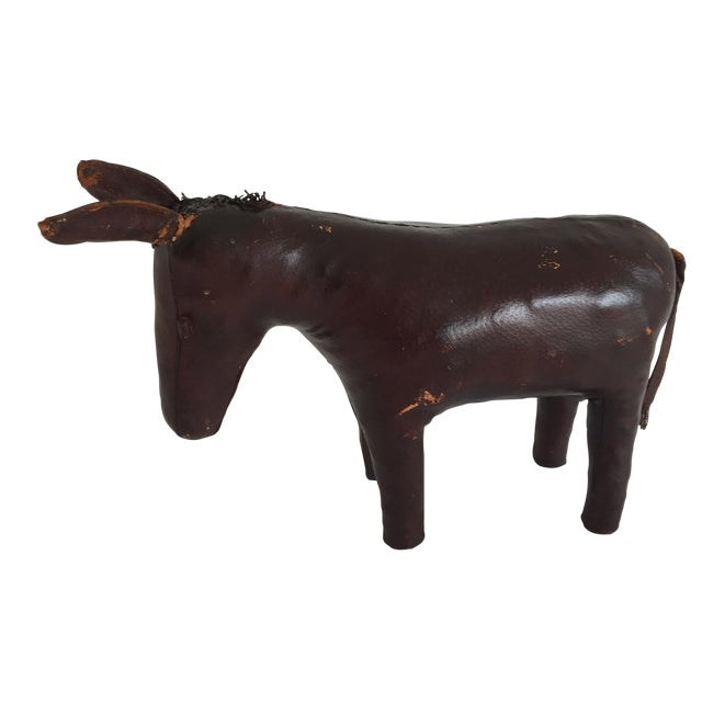 Abercrombie and Fitch Brown Leather Donkey - Image 1 of 5
