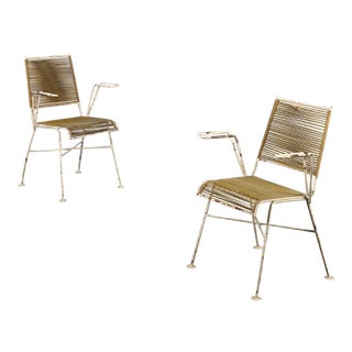 Mathieu Mategot Mid-Century French Chairs - A Pair