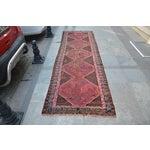 Image of Persian Antique Handmade Runner Rug