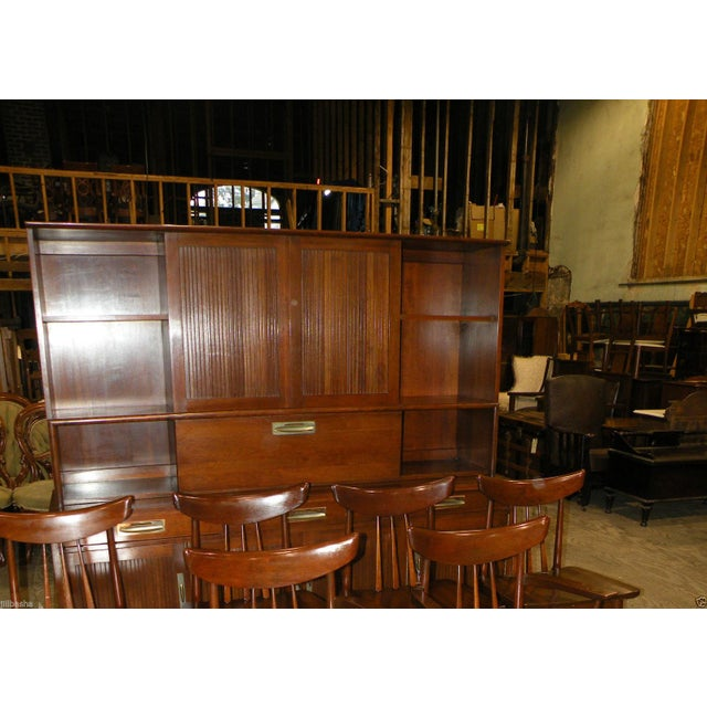 Willett Trans East Mid Century Bookcase Cabinet - Image 7 of 7