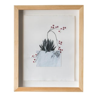 Crassula Staple Leaf Wall Art