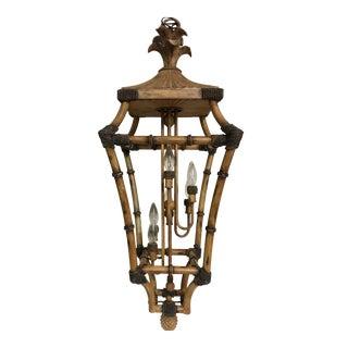 Chinoiserie Bamboo Style Lantern