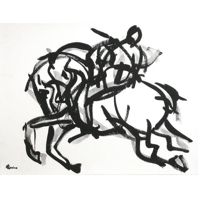 Polo Rider I Painting by Heidi Lanino - Image 1 of 3