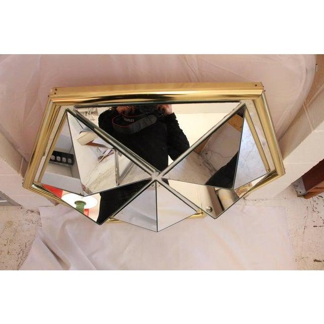 Mid-Century Modern Prism Mirror - Image 3 of 7