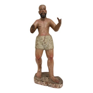 Early 19th Century Spanish Colonial Saint Figure