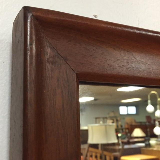 Image of Large Walnut Drexel Mirror