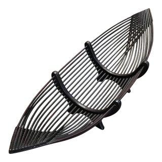 Modern Wooden Boat Basket