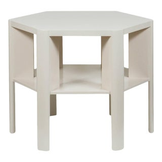 Martin & Brockett Hexagon Library Table