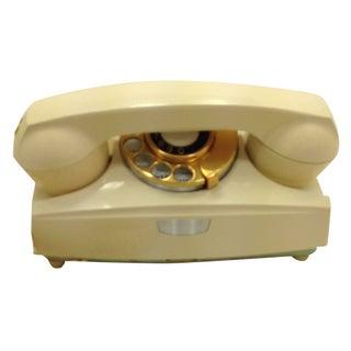 Ivory Rotary Dial Phone Modular