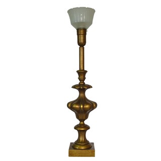 Vintage Rembrandt Brass Table Lamp
