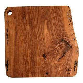Live Edge Ash Cutting Board / Serving Board