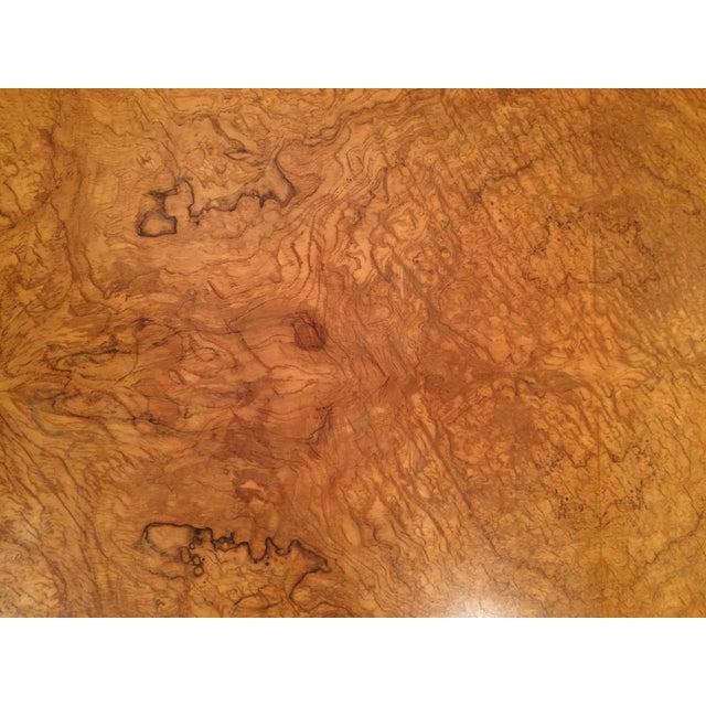 Baker Burlwood Modern Coffee Table - Image 4 of 7
