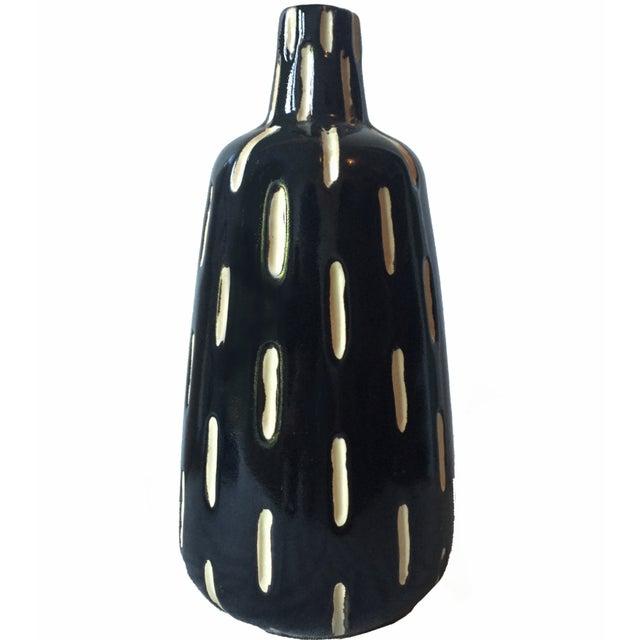 Mid-Century Studio Pottery Ceramic Vase - Image 1 of 4