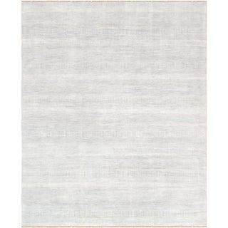 "Pasargad Transitional Bamboo Silk & Wool Area Rug - 8'3"" X 10'0"""