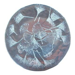 Vintage Ginko Leaf Platter