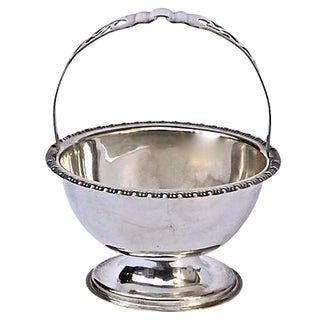 Antique English Silverplated Sugar Dish
