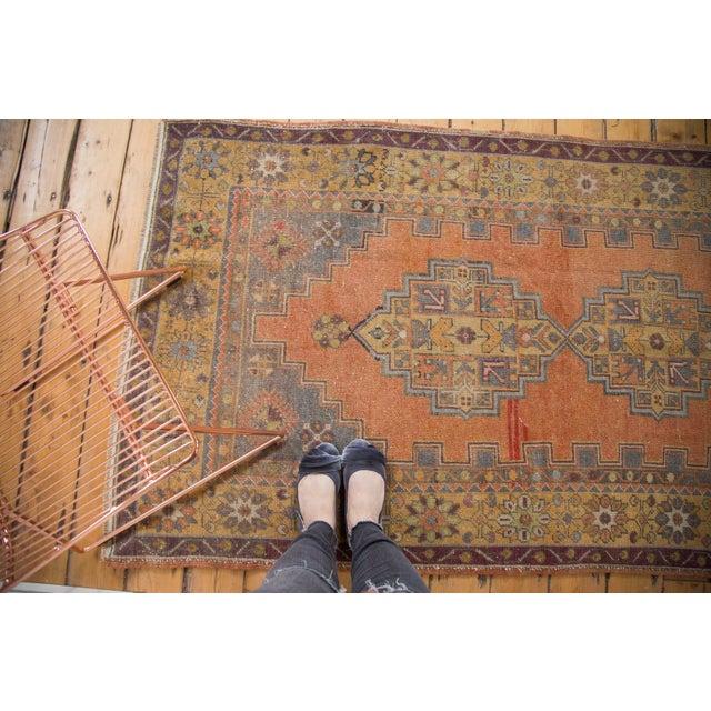 "Vintage Distressed Oushak Rug - 3'9"" x 6'6"" - Image 2 of 11"