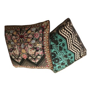 Camilla Home Silk Double Sided Pillows - A Pair