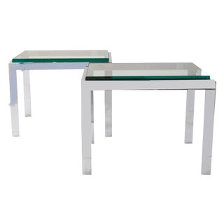 Design Institute of America Side Tables - A Pair