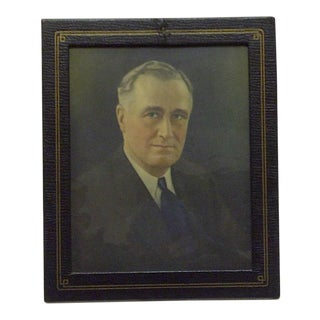 Vintage Photograph President Franklin D. Roosevelt, 1930