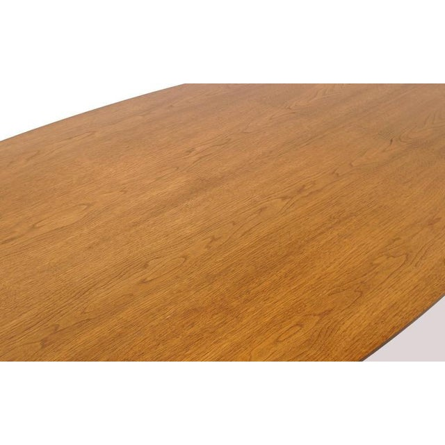 Norman Cherner Oval Dining Table - Image 3 of 6