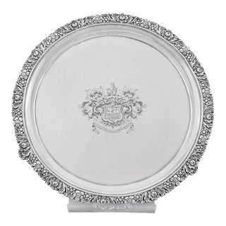 Scottish Silver Tray