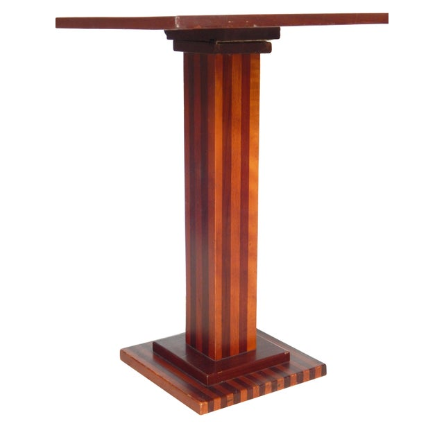 Checkered Tilt Top Table - Image 3 of 7