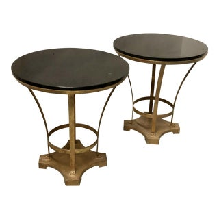 Neo-Classical Style End Tables -A Pair