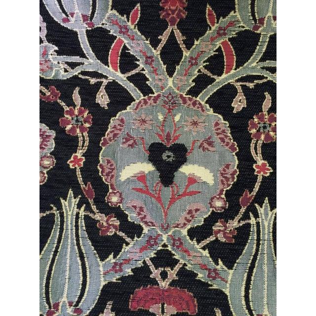 Black Oriental Table Runner - Image 3 of 4