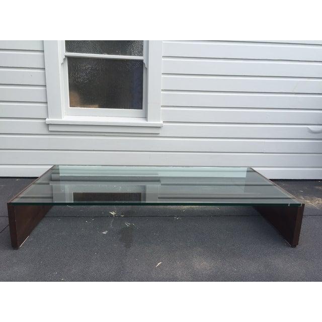 Mahogany & Glass Coffee Table - Image 4 of 6