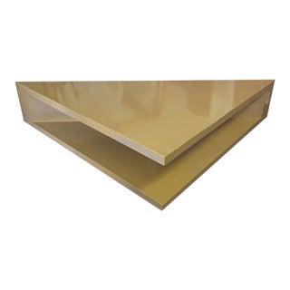 Custom 1960s Triangular Table