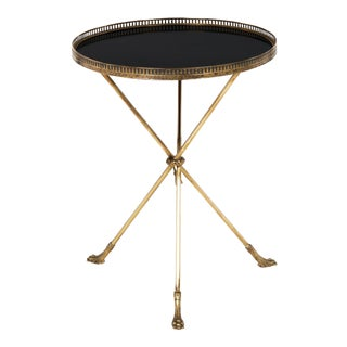 Tripod Side Table in the Style of Baguès