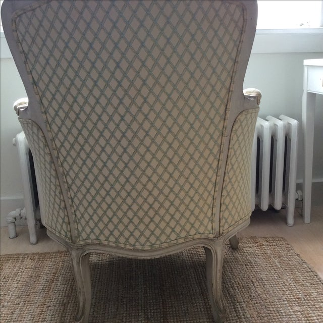 Vintage Louis XVI Bergere Style Chair - Image 3 of 7