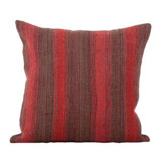 Vintage Anatolian Wool Accent Pillow