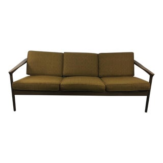 Mid-Century Modern Style Three-Cushion Sofa