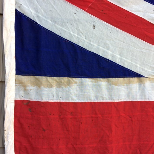 "Vintage ""Union Jack"" British Flag - Ship Flag - Image 3 of 11"
