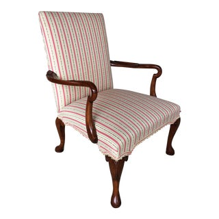 Antique George III Mahogany Library Chair