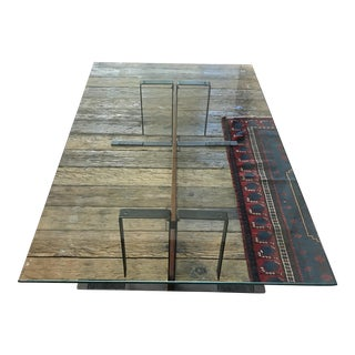 Pierre Chareau Style Coffee Table