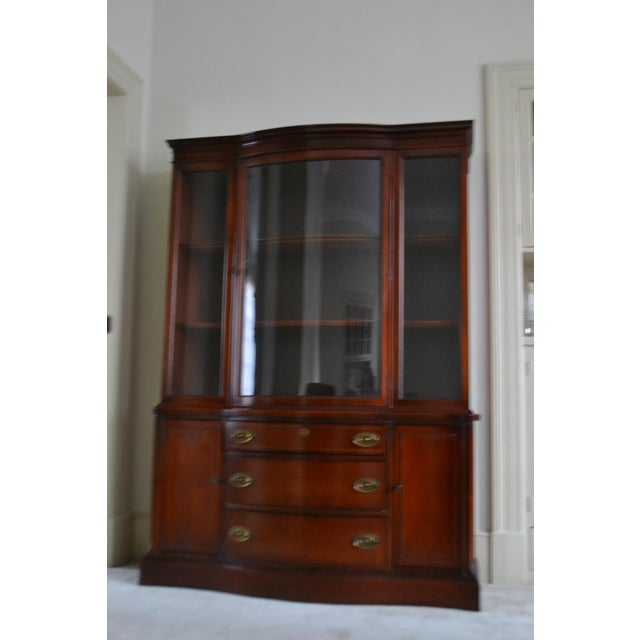 Early 1940s Drexel Victorian Style China Cabinet Chairish
