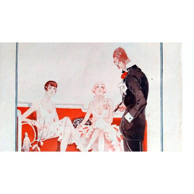 """Fournier 1925 La Vie Parisienne """" Un Amateur"""" Print - Image 4 of 5"""