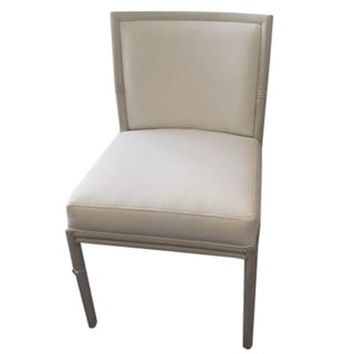 McGuire Classic Cove Upholstered Side Chair