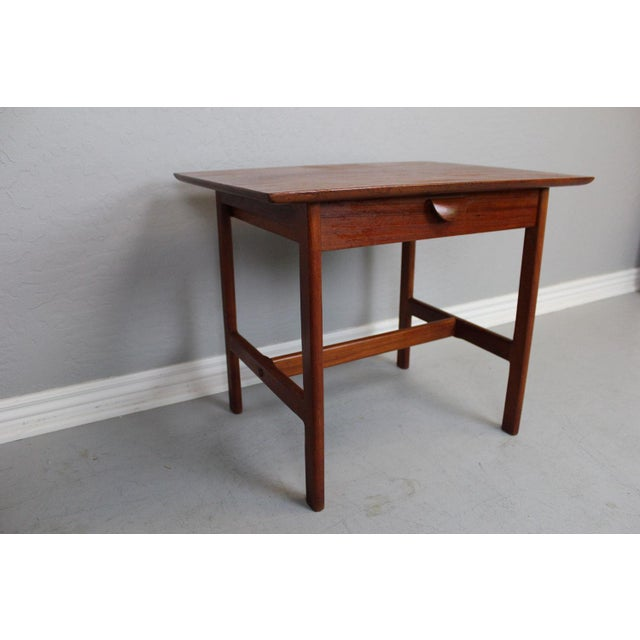 George Tanier Teak Side Table by P. Jeppeson - Image 2 of 9