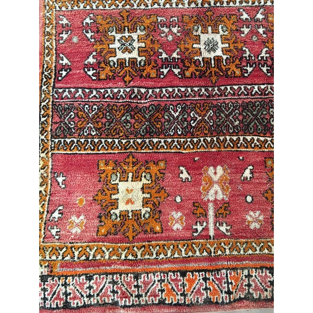 Large Vintage Azilal Abstract Rug 5 6 215 9 7 Chairish
