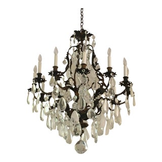 Rock & Clear Crystal Chandelier