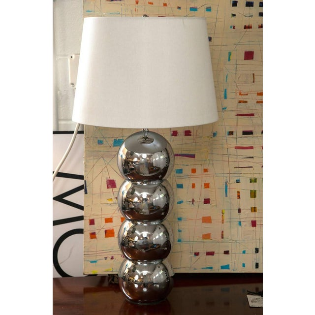 "Pair of Mid-Century George Kovacs ""Caterpillar"" Lamp - Image 2 of 4"