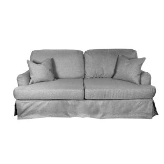 Haute House Home Furnishings Slipcover Sofa