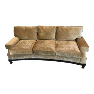 A. Rudin Golden Crescent Sofa