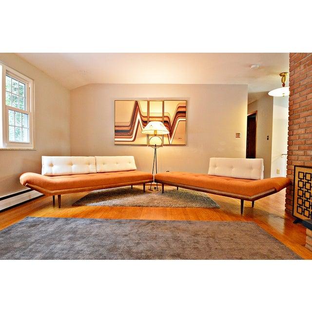 Mid-Century Three-Piece Sectional Sofa - Image 2 of 10