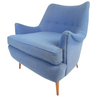 Adrian Pearsall Style Mid-Century Lounge Chair